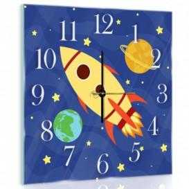 Nástěnné hodiny - NH0304 - Raketa