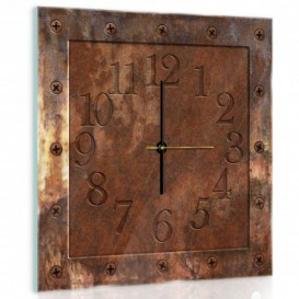 Nástěnné hodiny - NH0308 - Rez
