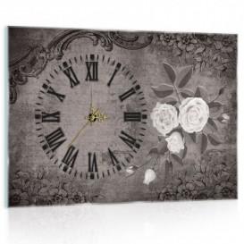 Nástenné hodiny - NH0323 - Vintage ruže