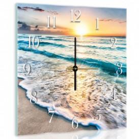 Nástenné hodiny - NH0329 - Pláž