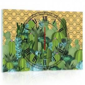 Nástenné hodiny - NH0343 - Kaktus