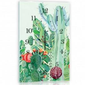 Nástenné hodiny - NH0365 - Kaktus