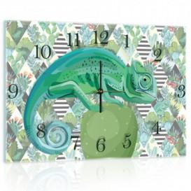 Nástenné hodiny - NH0366 - Chameleón