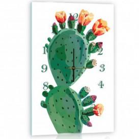 Nástenné hodiny - NH0371 - Kaktus