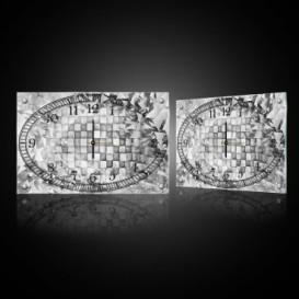 Nástěnné hodiny - NH0388 - 3D kostky