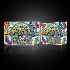 Nástenné hodiny - NH0394 - Grafity