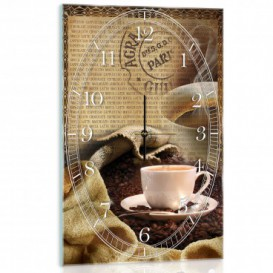 Nástenné hodiny - NH0397 - Káva