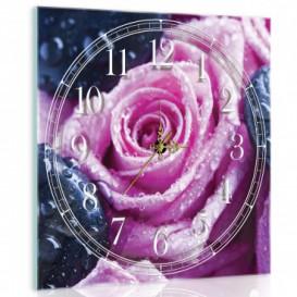 Nástenné hodiny - NH0402 - Ruža