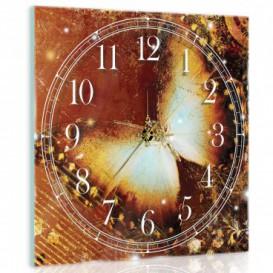 Nástenné hodiny - NH0403 - Motýľ