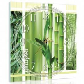 Nástenné hodiny - NH0419 - Bambus