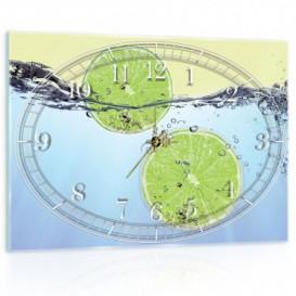 Nástenné hodiny - NH0421 - Limetky