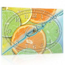 Nástenné hodiny - NH0422 - Citrusy