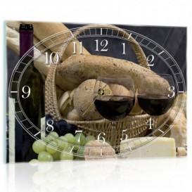 Nástenné hodiny - NH0423 - Víno