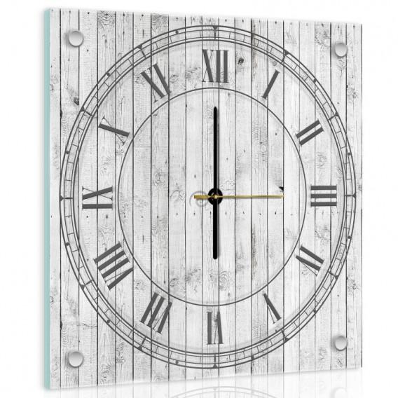 Nástenné hodiny - NH0427 - Drevené dosky