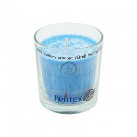 Palmová svíčka ve skle - ledový vítr