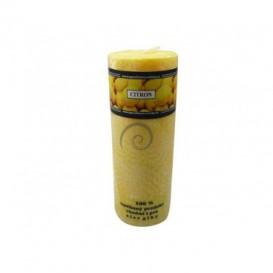 Palmová sviečka valec – citrón