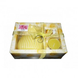 Aroma set-žltý-ruža