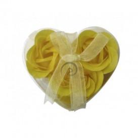 Mydlové konfety 3ks – žlté