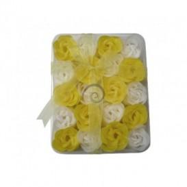 Mydlové konfety 20ks – žltobiele