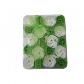 Mydlové konfety 20ks – zelenobiele