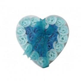 Mydlové konfety 24ks – modré