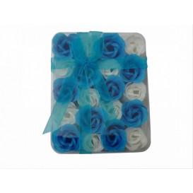 Mydlové konfety 20ks – modrobiele