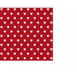 Samolepiaca fólia 200-3222 Srdiečka červená 45cmx15m