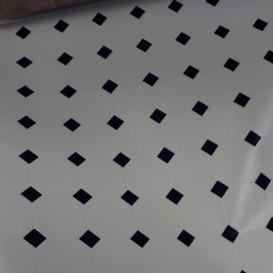 Umývateľný 3D obklad na stenu Biela kachlička š.67,5cm