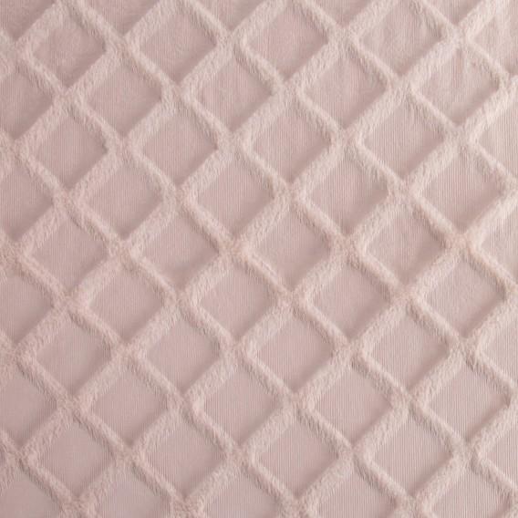 Prehoz na posteľ Milim rúžová