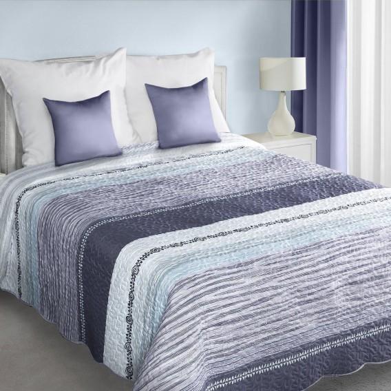 Prehoz na posteľ fialový Adrien