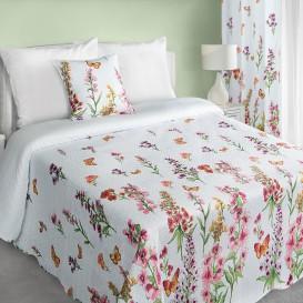 Prehoz na posteľ  Lúčne kvety
