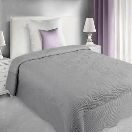 Prehoz na posteľ  Sivý Laura 170x210cm