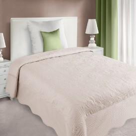 Prehoz na posteľ  Ružový Laura 170x210cm