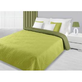 Prehoz na posteľ  obojstranný Zelený 170x210cm