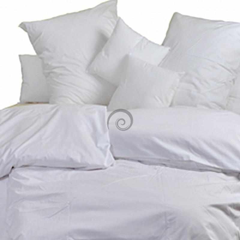 1503baa6d707 Posteľné obliečky bavlnený satén biele