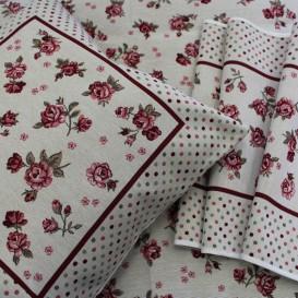 Gobelínový ubrus Růžová zahrada