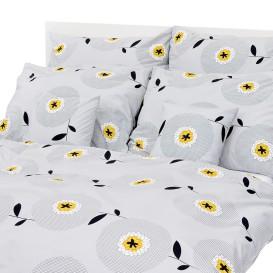 Posteľná bielizeň Bieložlté kvety