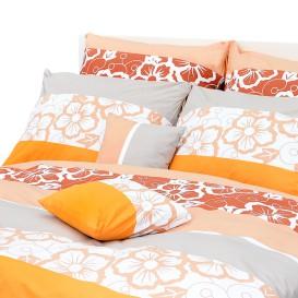 Posteľná bielizeň Oranžové kvety