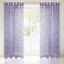 Hotová záclona Fiora fialová 140x250cm