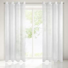 Hotová záclona Krčená biela 140x250cm