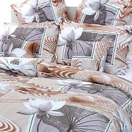 Posteľné obliečky bavlnené Lekná
