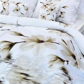 Posteľné obliečky bavlneno Magnólie