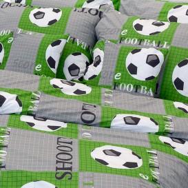 Posteľné obliečky bavlnené Futbal