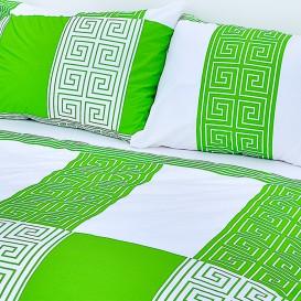 Posteľné obliečky bavlnené Zelený Vesace