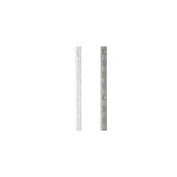 Nosná konzolová lišta dvojitá biela