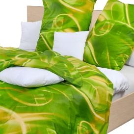Posteľné obliečky krepové Zelená dúha