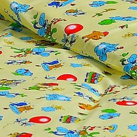 Detské posteľné obliečky bavlnené Balóny
