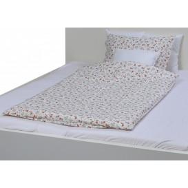 Detské posteľné obliečky bavlnené Medvedík so srdiečkami