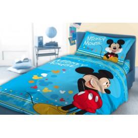 Detské posteľné obliečky bavlnené Mickey