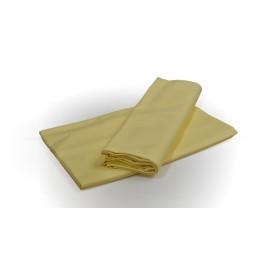 Posteľné obliečky bavlnené žlté
